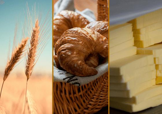 viennoiseries et ses ingrédients